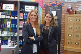 Blanca Corrales Manager de Kiehl's para España y Silvia Martín Prat, Responsable de Comunicación