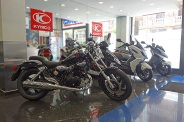 Kymco en García Motos, Bilbao.