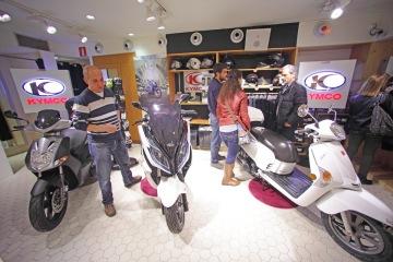García Motos / Kymco en VERY BILBAO POP-UP SHOP