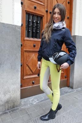 Bilcab ( pantalón Cavallo, casco Kep, chaqueta Equiline, botín Jodphur)