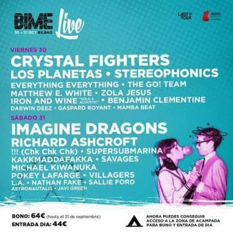 BIME Live 2015 en Bilbao