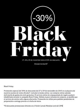 Loreak Mendian Black Friday