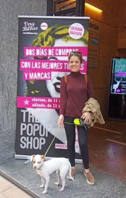 Elena de Dog Vivant en el Pop Up de Very Bilbao